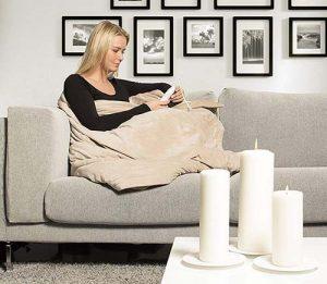 manta electrica para sofa