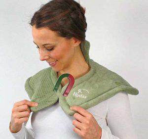 almohadilla electrica cuello y hombros